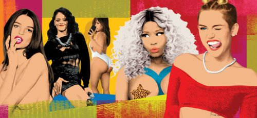 blurred-lines-nicki-minaj-kim-kardashian-rihanna-miley-pornification-w724