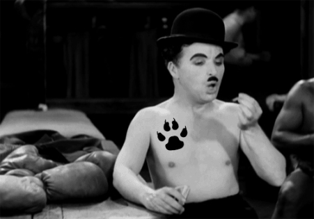 charlie chaplin shirtless