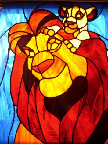 Lion-King-Stained-Glass