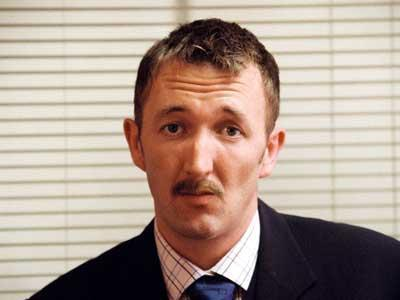 "Ralph Ineson as ""dad"""