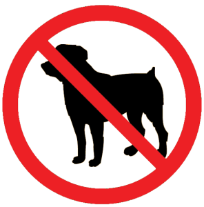 No-dogs